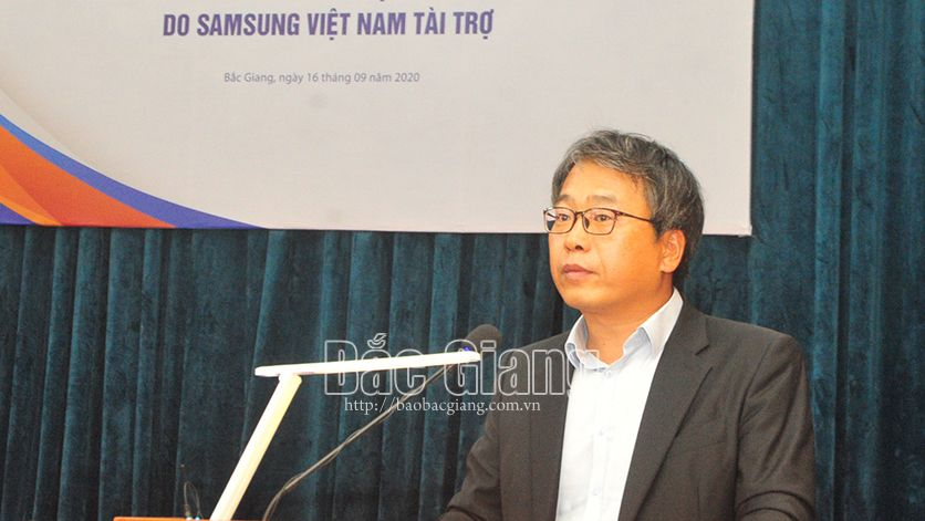 Bắc Giang, Yên Dũng, Công ty Samsung Electronics Việt Nam, xe lăn, người khuyết tật