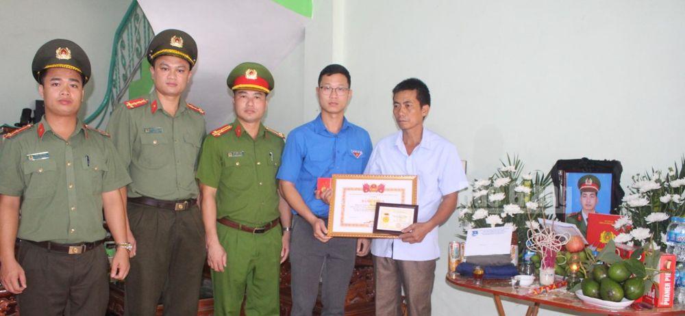 Bắc Giang, tuổi trẻ dũng cảm, Thượng sĩ Nguyễn Văn Mạnh hy sinh khi làm nhiệm vụ