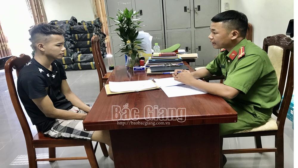 Bắc Giang, Khởi tố, vụ cảnh sát cơ động tội giết người