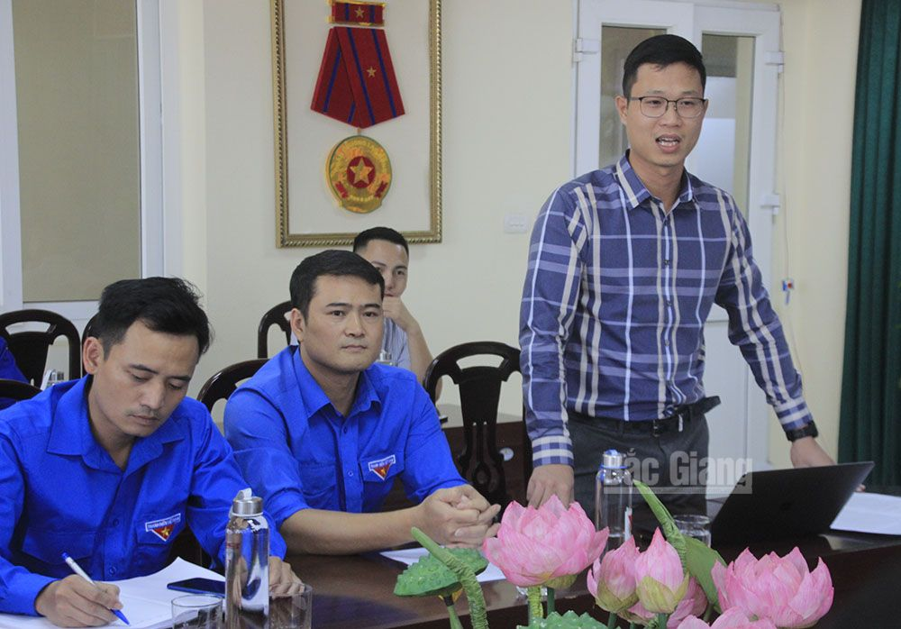 Bac Giang province, Bac Giang youth's startup, farming economic development, trademark recognition, distribution and consumption systems