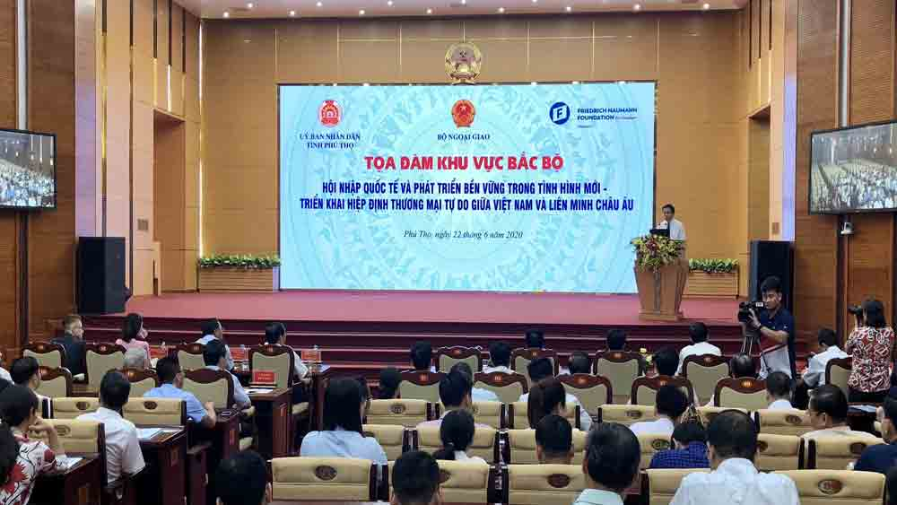 Bac Giang province, plan to implement EVFTA, EU - Vietnam Free Trade Agreement, coherent and effective plans, administrative procedure reform