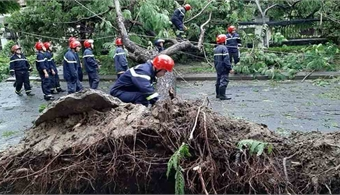 One dead as Storm Noul hits central Vietnam