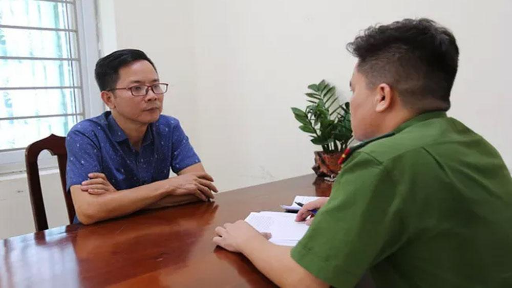 Khởi tố, Phó Trưởng ban Tuyên giáo Huyện ủy Tam Đảo, tội vu khống, ông Nguyễn Mạnh Toàn