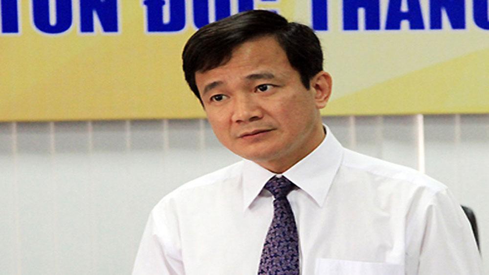 Hiệu trưởng Đại học Tôn Đức Thắng, bị cách tất cả chức vụ Đảng, Ông Lê Vinh Danh,