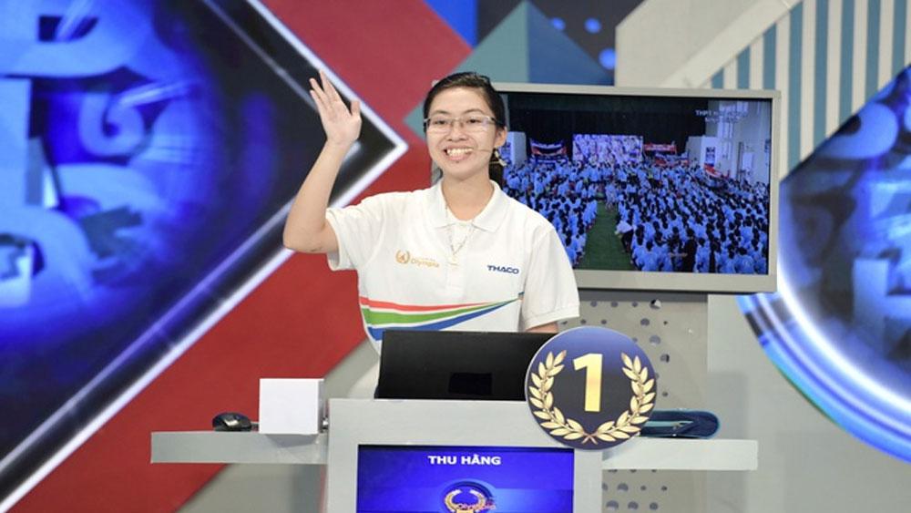 Nguyễn Thị Thu Hằng, vô địch Olympia, Vũ Quốc Anh, Văn Ngọc Tuấn Kiệt và Lưu Đào Dũng Trí