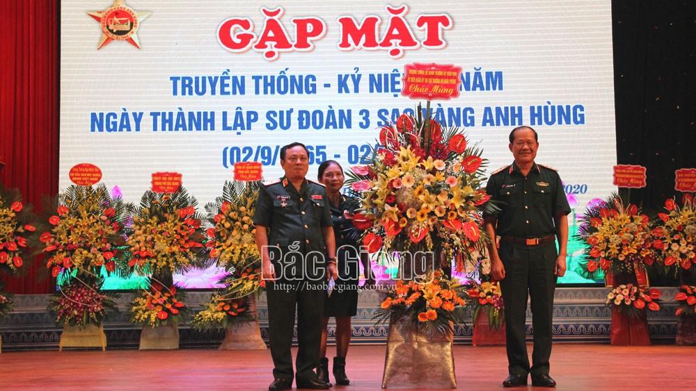 Ban liên lạc Cựu chiến binh Sư đoàn 3 Sao Vàng tỉnh Bắc Giang gặp mặt truyền thống