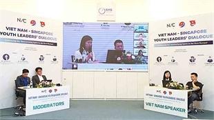 Vietnamese, Singaporean young entrepreneurs enhance cooperation