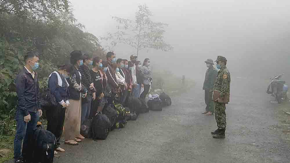 Over 100 Vietnamese illegal entrants from China found within four days
