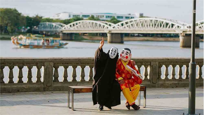 No-Face and God of the Soil give Hue a cultural twist