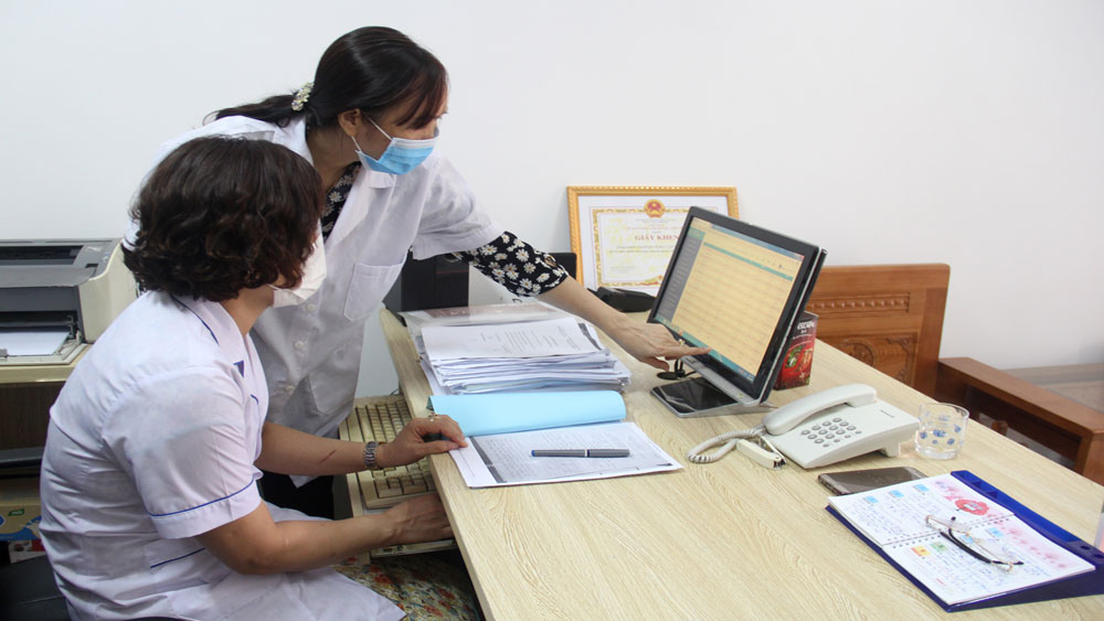 Benefits, electronic health record, Bac Giang province, public electronic health record, medical facilities, health examination and treatment,