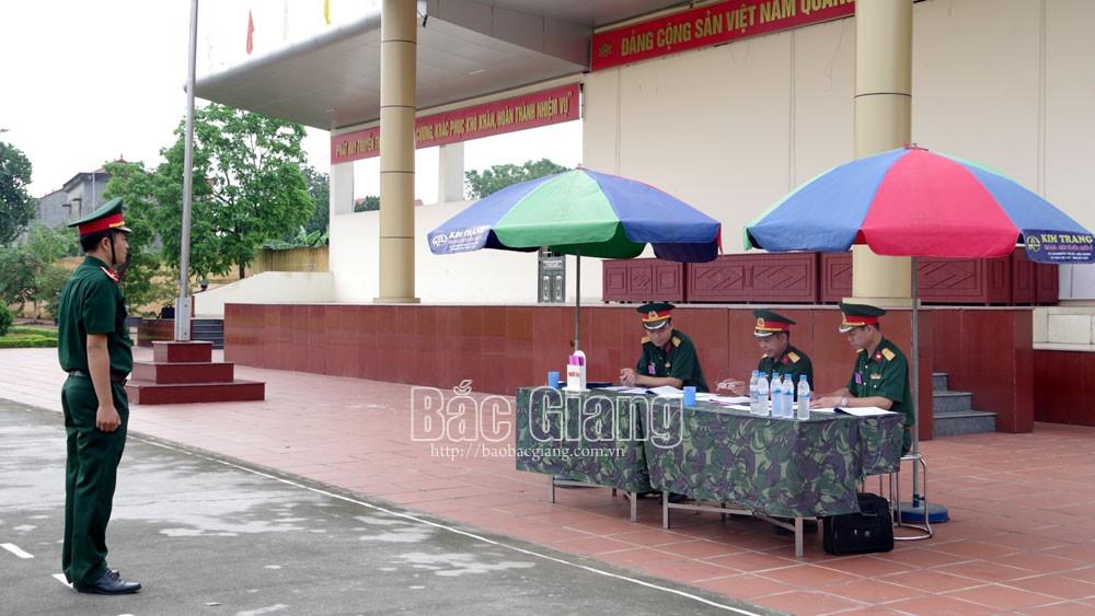 61 thí sinh dự thi giáo viên giỏi Trường Quân sự (Quân đoàn 2)