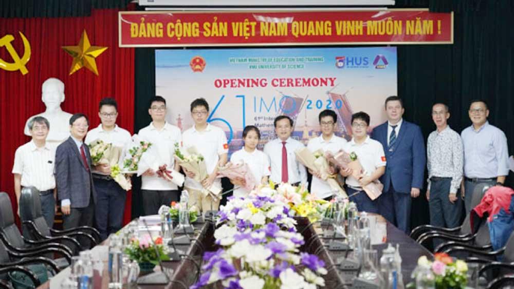 6 học sinh Việt Nam dự thi Olympic Toán quốc tế