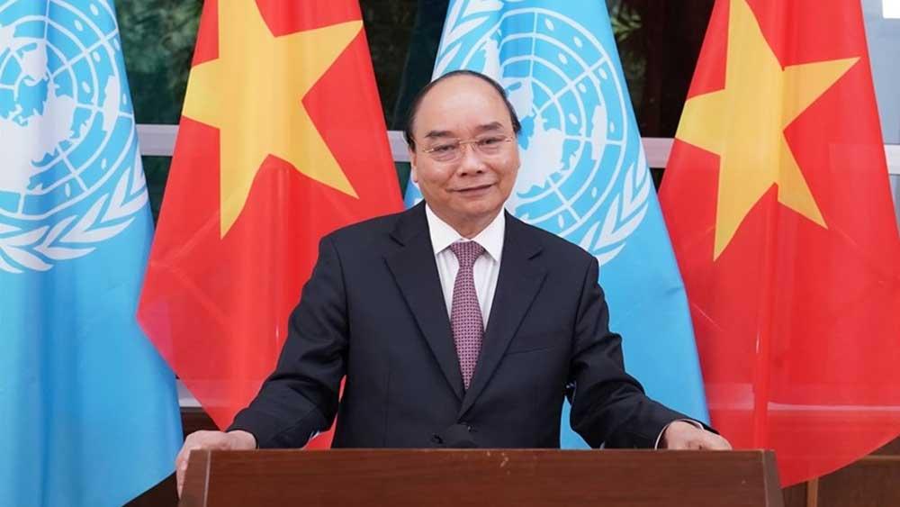 Thông điệp của Thủ tướng Nguyễn Xuân Phúc, gửi Liên Hợp Quốc