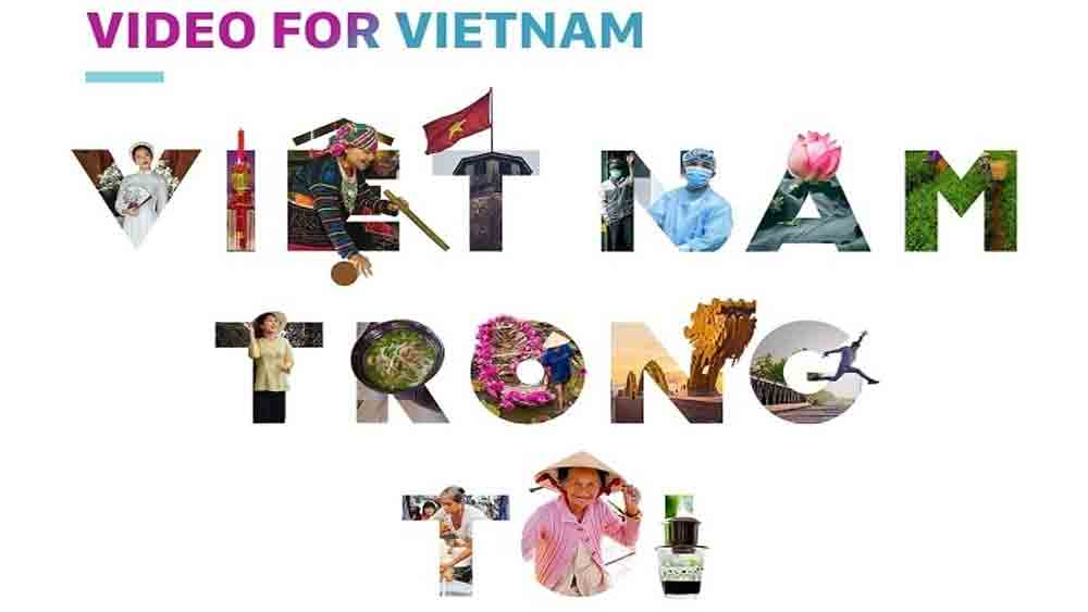 Video-making programme, Vietnam's land and people, Facebook, popular Vietnamese artists, Video for Vietnam, Covid-19 pandemic