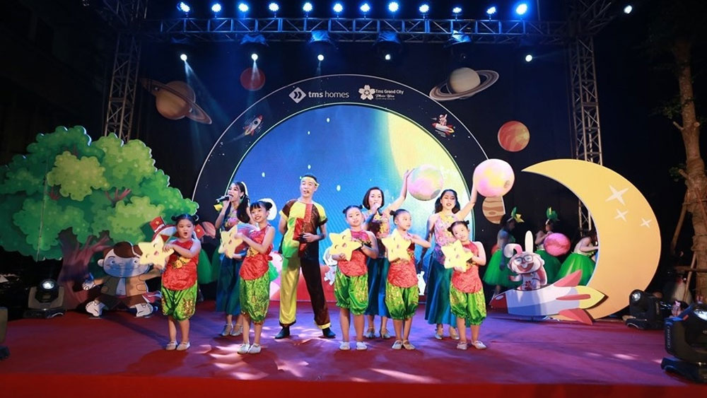 Full Moon Festival 2020, diverse activities, various entertainment activities, lantern parade, lion dancing, folk game performances