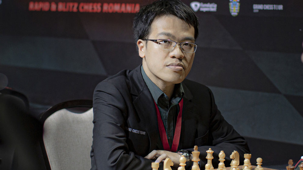 Le Quang Liem, world cup winner, online tournament, last eight, FIDE World Cup champion, strong opponent, top prize