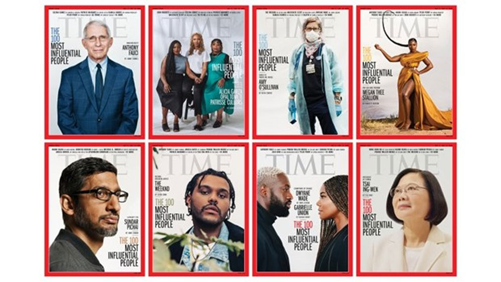 Tạp chí Time, công bố, danh sách, 100 nhân vật, ảnh hưởng nhất , thế giới , năm 2020, danh sách 100 nhân vật có ảnh hưởng nhất trên thế giới năm 2020