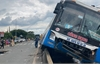 Đồng Nai: Xe khách tông chết người, hàng chục hành khách hoảng loạn