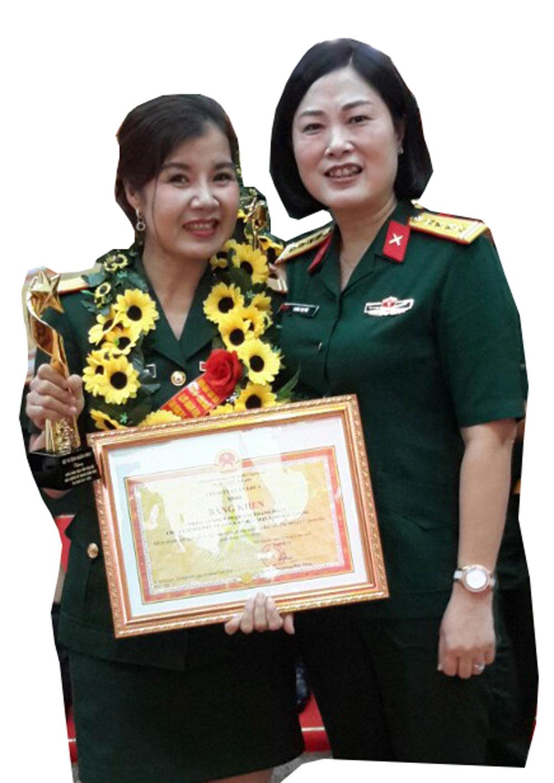 Phan Thị Thanh Nhàn (SN 1975), Chủ tịch Hội Phụ nữ Bộ CHQS tỉnh Bắc Giang