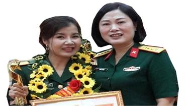 """Thiếu tá Phan Thị Thanh Nhàn: Thủ lĩnh """"đội quân tóc dài"""""""