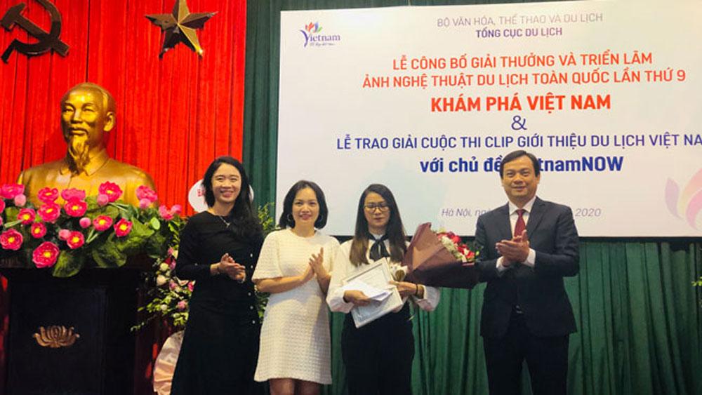 Trao giải, cuộc thi Ảnh nghệ thuật du lịch và clips giới thiệu du lịch Việt Nam, Tổng cục Du lịch, Khám phá Việt Nam