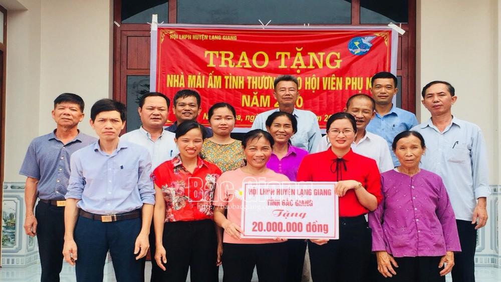 Lạng Giang (Bắc Giang) không còn nhà tạm, nhà dột nát