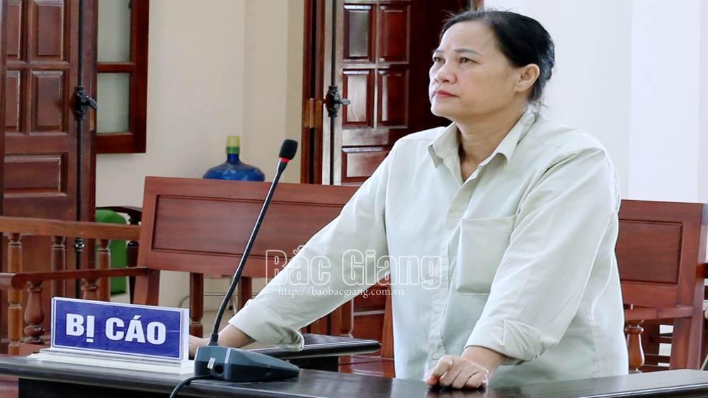 Bắc Giang, Tòa án nhân dân tỉnh Bắc Giang, Nữ quái lừa đảo, lừa đảo chiếm đoạt tài sản
