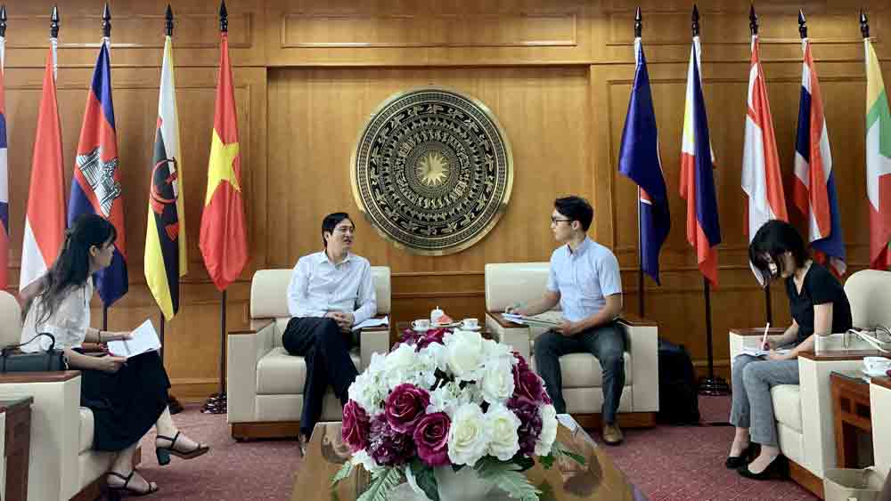 Bac Giang DOFA works with Japanese Embassy to Vietnam