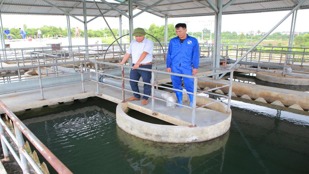 nước sạch, Việt Yên, Khu công nghiệp, vùng cao, nước sinh hoạt,