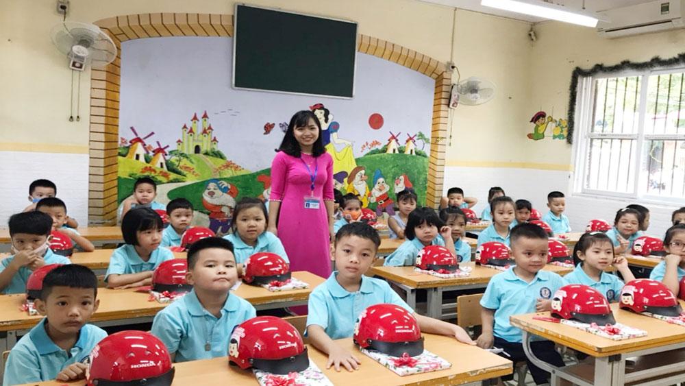 tiền trường, Bắc Giang, học sinh, nhà trường