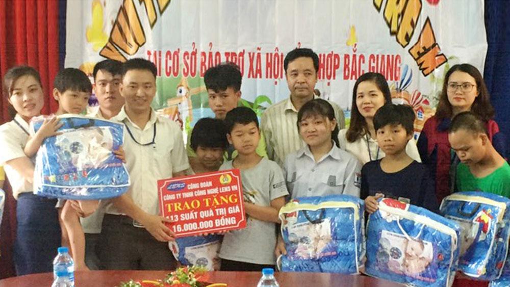 trung thu, Bắc Giang, Cơ sở Bảo trợ xã hội tổng hợp, Rằm Thung thu