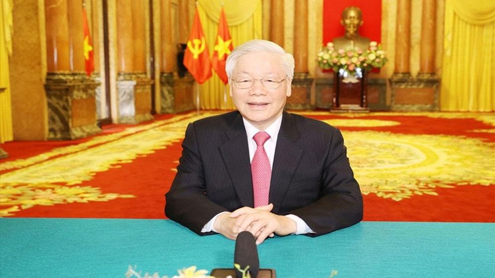 Tổng Bí thư, Chủ tịch nước gửi thông điệp tới Liên Hợp quốc