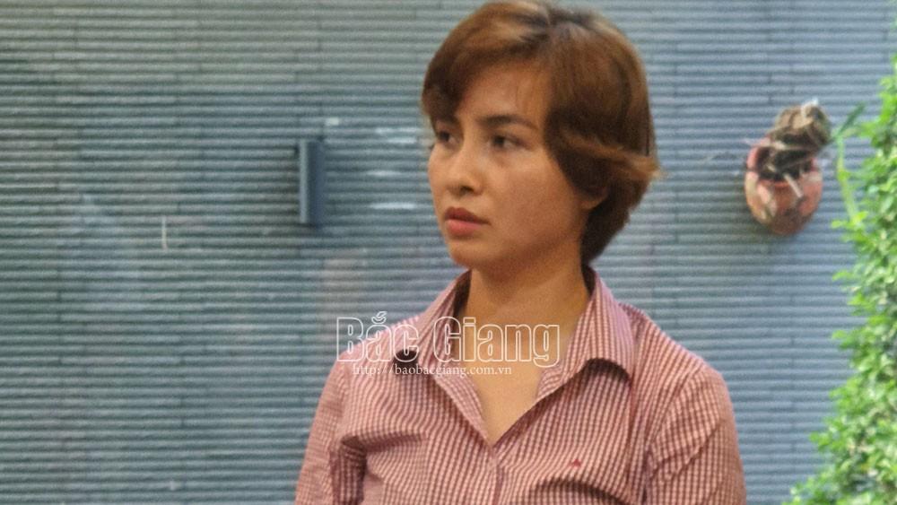 Bắc Giang, bắt đối tượng tham ô tài sản, kế toán doanh nghiệp tham ô tài sản, Công ty TNHH Wonjin.