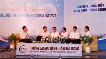 Trường Đại học Nông - Lâm Bắc Giang hướng nghiệp cho học sinh, sinh viên
