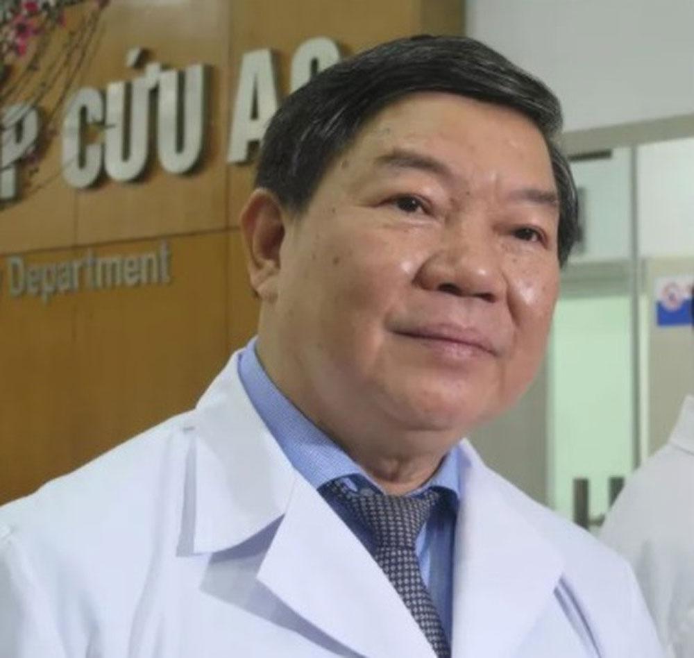 Bắt ông Nguyễn Quốc Anh, nguyên giám đốc Bệnh viện Bạch Mai, Công ty BMS,  robot Rosa