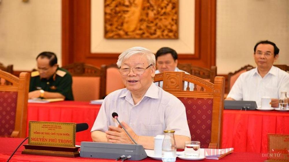 Bộ Chính trị, làm việc, chuẩn bị , đại hội các đảng bộ trực thuộc T.Ư nhiệm kỳ 2020-2025