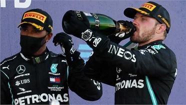 Bottas về nhất Grand Prix Nga