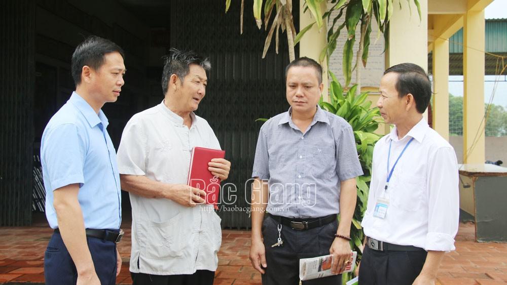 Bắc Giang, tiếp xúc, đối thoại của người đứng đầu, đối thoại với nhân dân, giải quyết kiến nghị