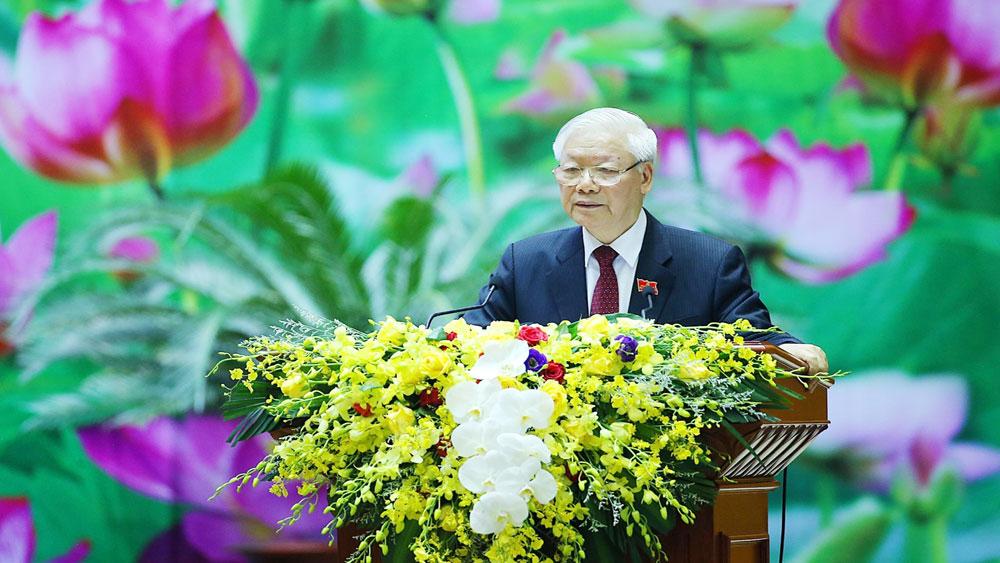 Tổng Bí thư, Chủ tịch nước, Đại hội Đảng bộ Quân đội lần thứ XI