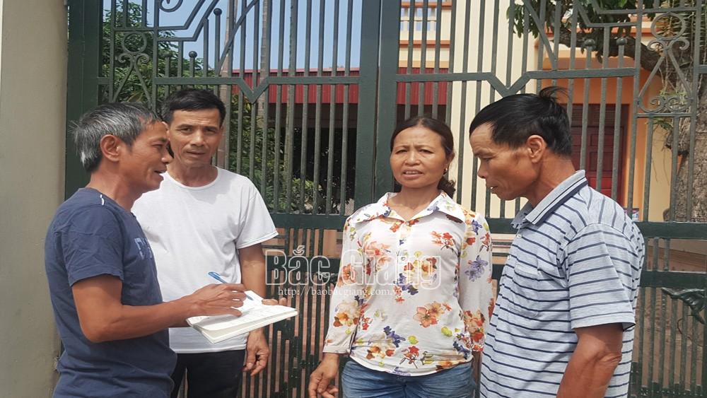 Lạng Giang (Bắc Giang): Tỷ lệ đảng viên trúng cử trưởng thôn, tổ trưởng tổ dân phố đạt 86,1%.