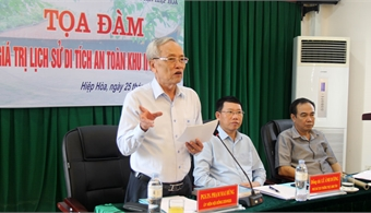 Bac Giang finalizes documents for recognition of Hiep Hoa Safety Zone II as special national relic site