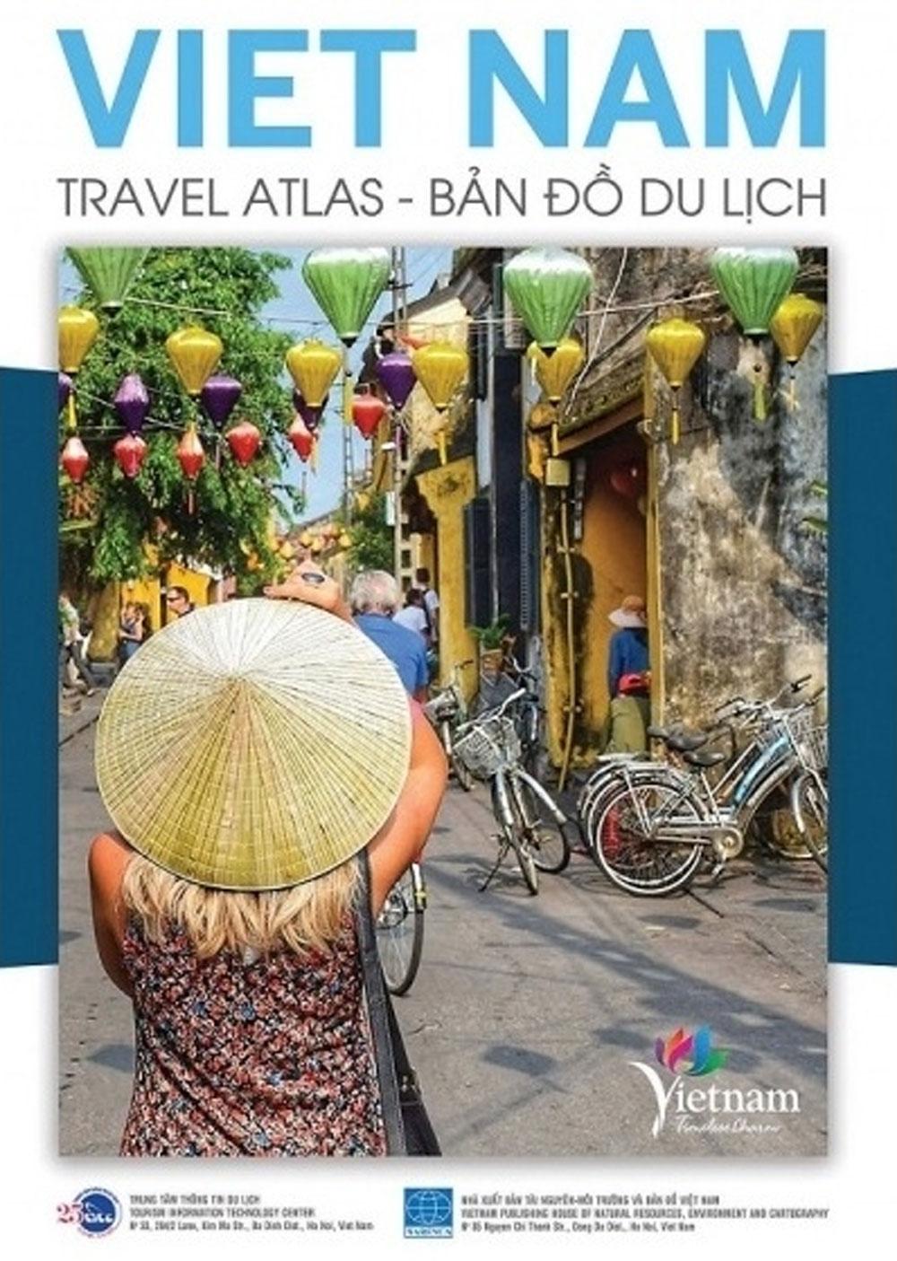 Vietnam Travel Atlas, update visitors, tourism information, official publication,  tourist destinations, essential information