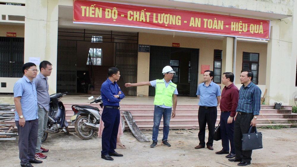 "Committee for Foreign NGO Affairs inspects project ""Samsung Hope School"" in Hiep Hoa"
