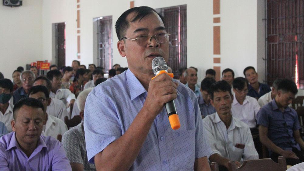 Đại biểu Quốc hội, Bắc Giang, Lục Nam, Lê Thị Thu Hồng, cử tri, tiếp xúc cử tri.