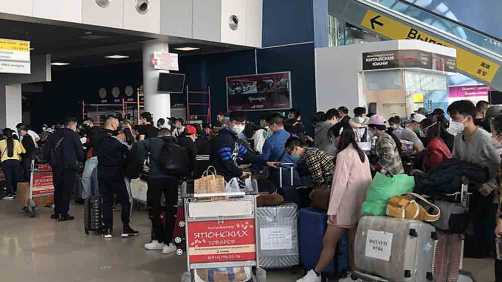 Russia returnees add 17 to Vietnam's Covid-19 tally