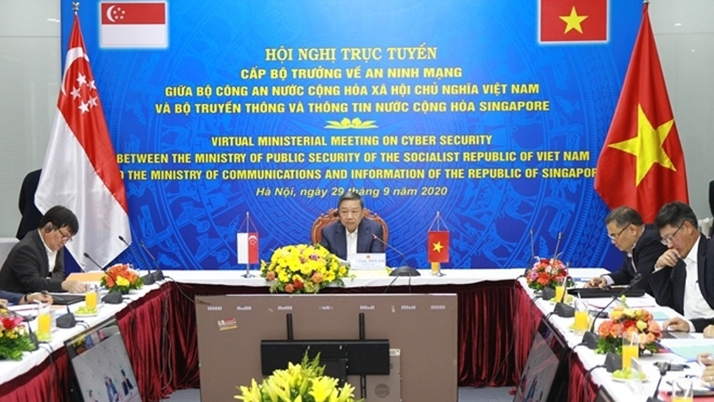 Vietnam, Singapore boost cooperation on cybersecurity