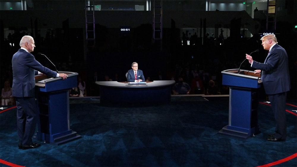 Bầu cử Mỹ 2020, Màn so găng nảy lửa, hai ứng cử viên tổng thống