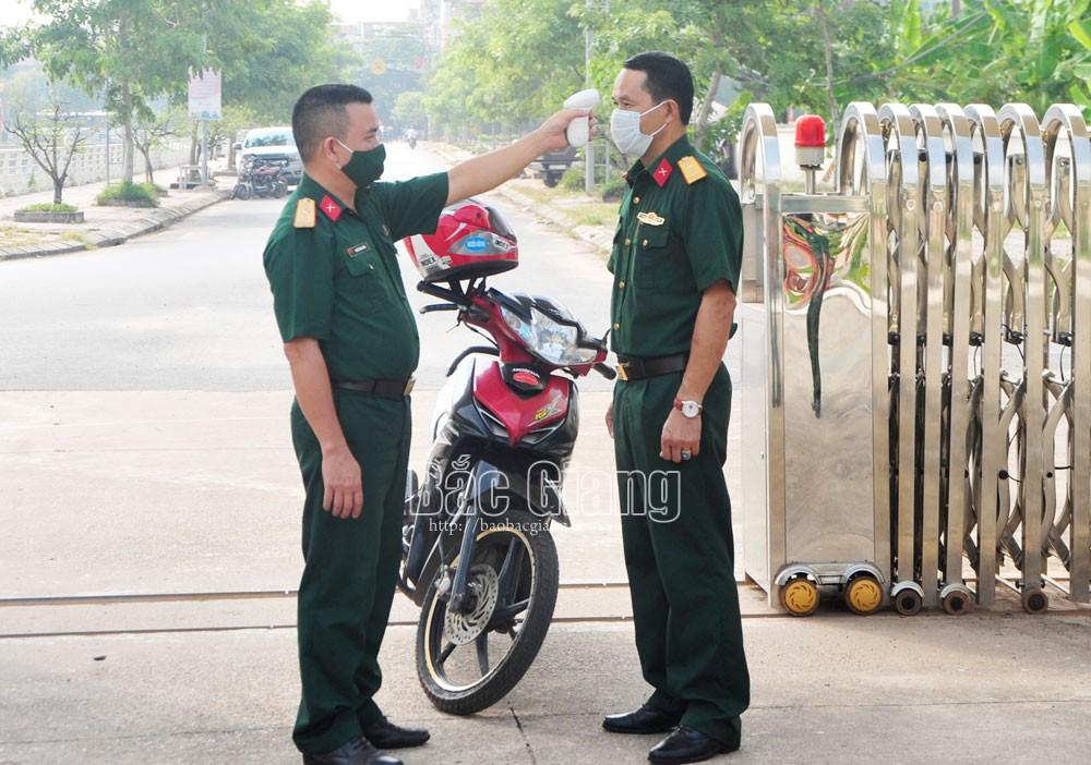 Bắc Giang, quản lý, giáo dục, chấp hành kỷ luật, an toàn, quân đội,Đảng ủy, Bộ CHQS tỉnh Bắc Giang, Năm kỷ luật, kỷ cương