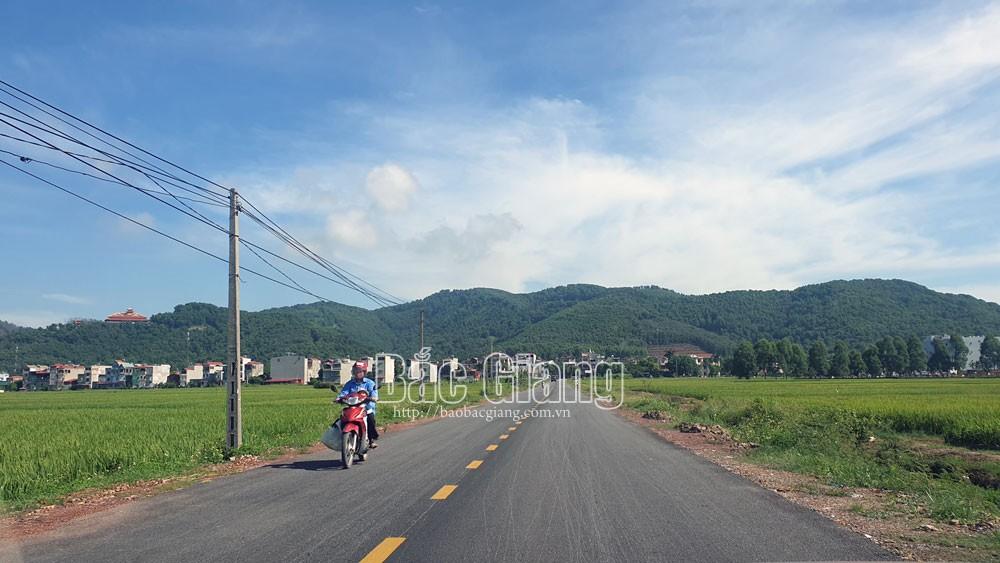 Yên Dũng, 57 tỷ đồng, cải tạo, nâng cấp đường, Bắc Giang, giao thông.
