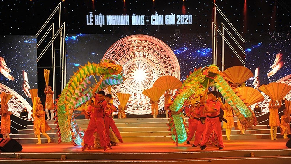 Can Gio, Whale Worshiping Festival, various attractive activities, locals and tourists, Nghinh Ong, whale worshiping ceremony